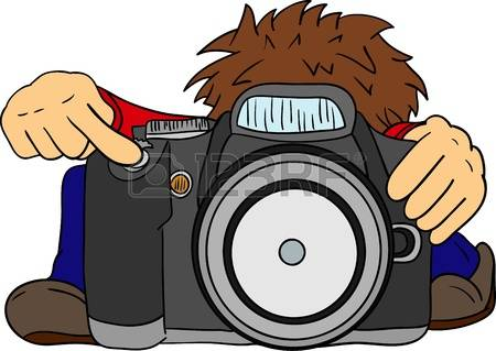 19909663-vector--the-little-photographer-and-big-camera--isolated-on-background